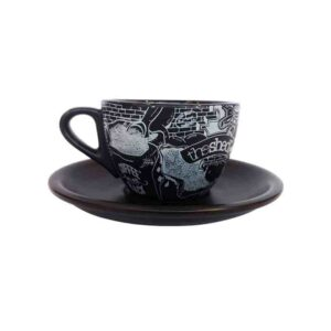 Cappuccino Cup & Saucer (set of 6)