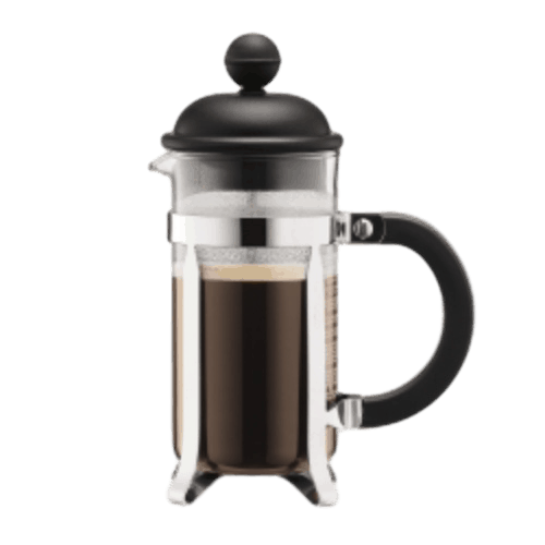 French Press 3 Cup Press (Chrome)