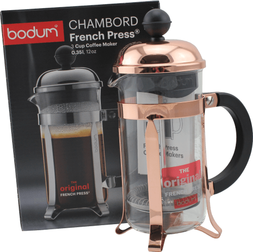 French Press 3 Cup Press (Copper)