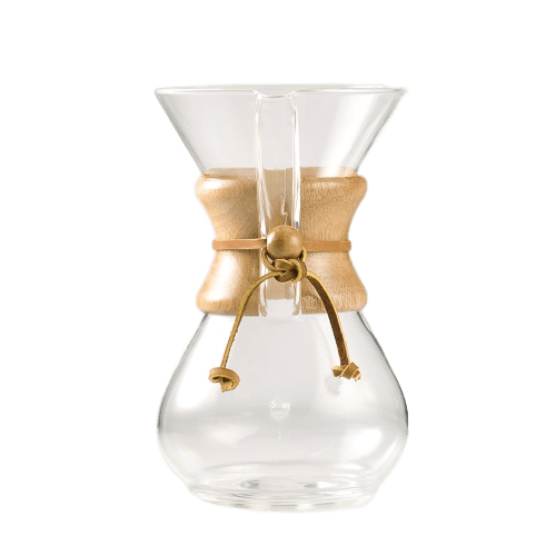 Chemex Classic 6 Cup Glass Coffee Brewer
