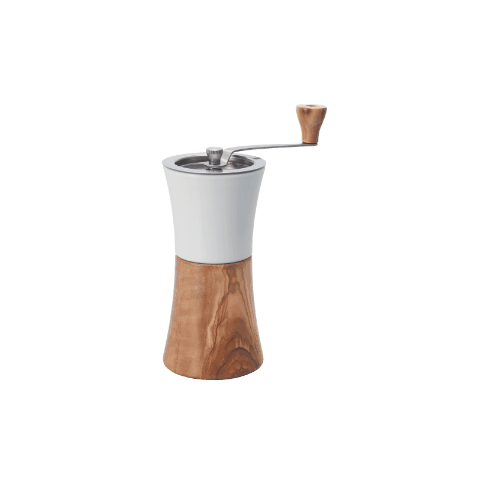 Hario Coffee Mill (Ceramic/Olive Wood)
