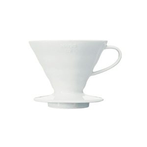 Hario V60 Dripper 2 Cup (Ceramic, White)