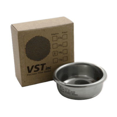 58mm Group VST Precision Ridgeless Double Filter Basket (18 grams)