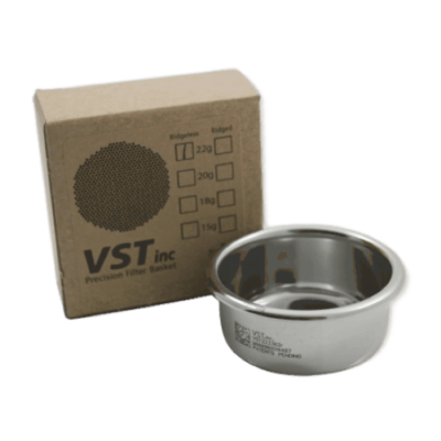 58mm Group VST Precision Ridgeless Double Filter Basket (22 grams)